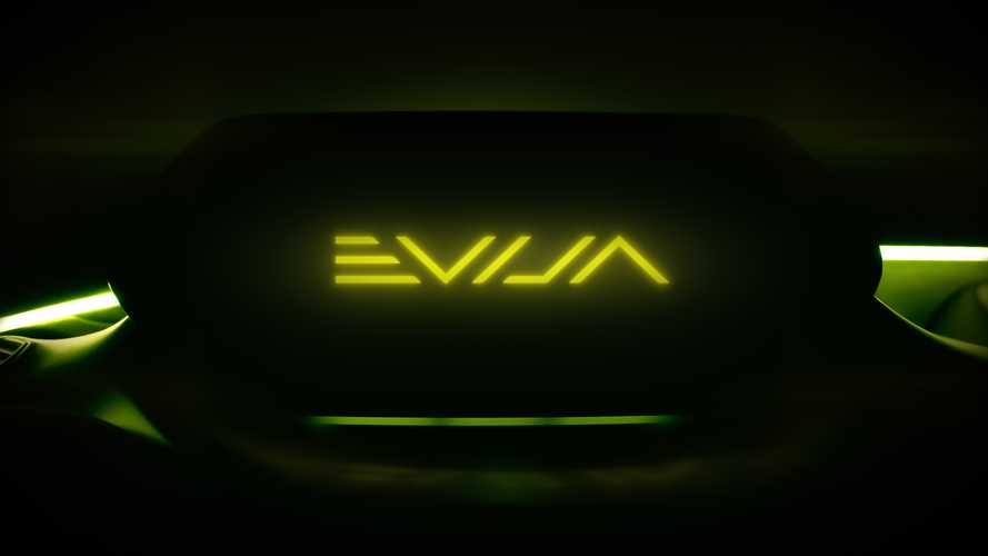Lotus shares new hypercar name, Evija
