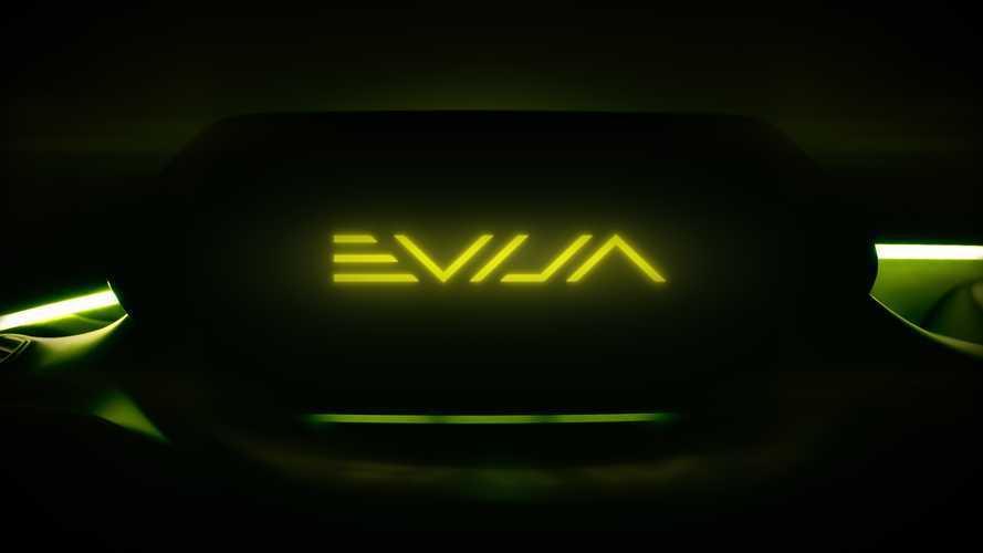 Lotus shares new hypercar name, Evija