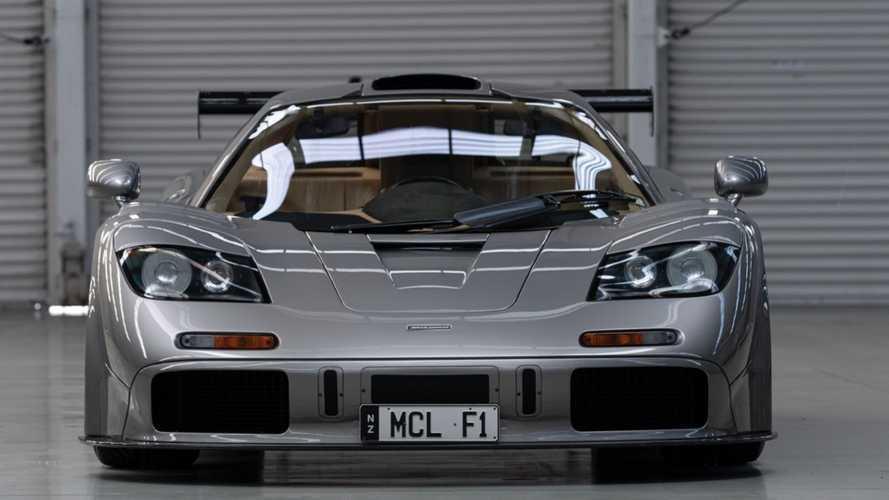 Disfruta, en vídeo, de este McLaren F1 LM de museo