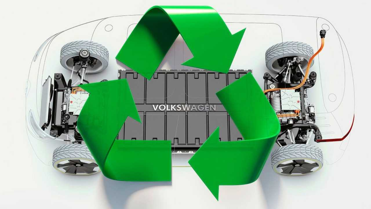For EV battery recycling, Volkswagen thinks ahead to the end of the road