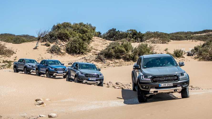 Ford Ranger Raptor usa tática das migalhas de pão para não se perder no off-road