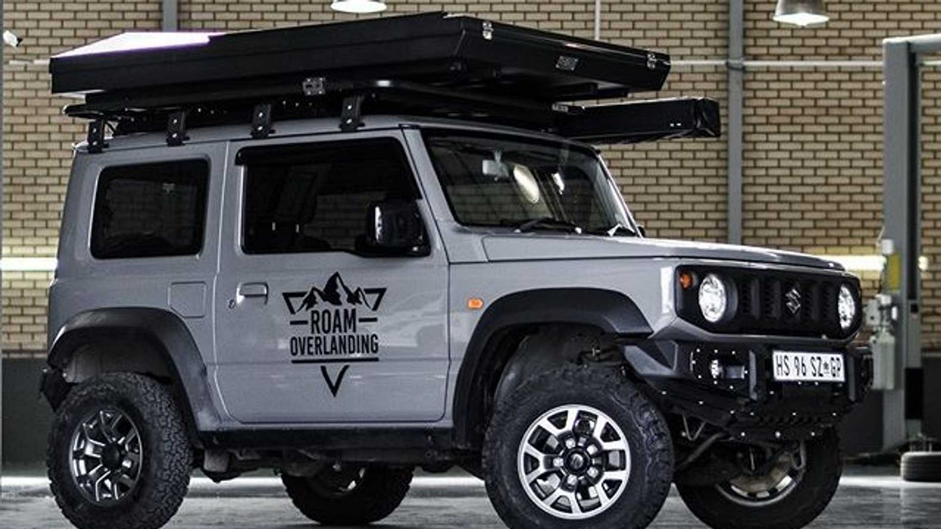 How Can You Make A Suzuki Jimny Cooler Rooftop Tent