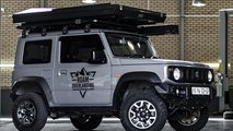 Suzuki Jimny with rooftop tent