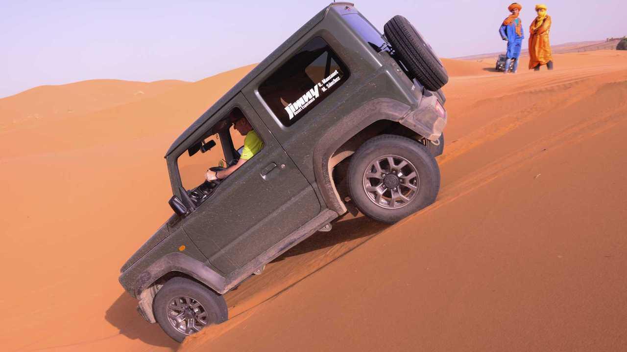 Suzuki Jimny Desert Experience (Etapa 3)