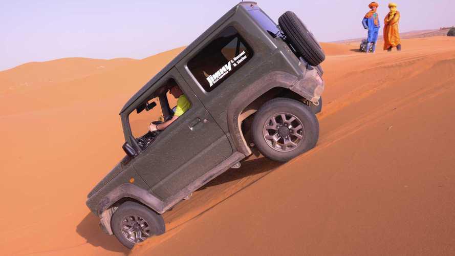 Suzuki Jimny Desert Experience: los límites los pones tú, no el coche