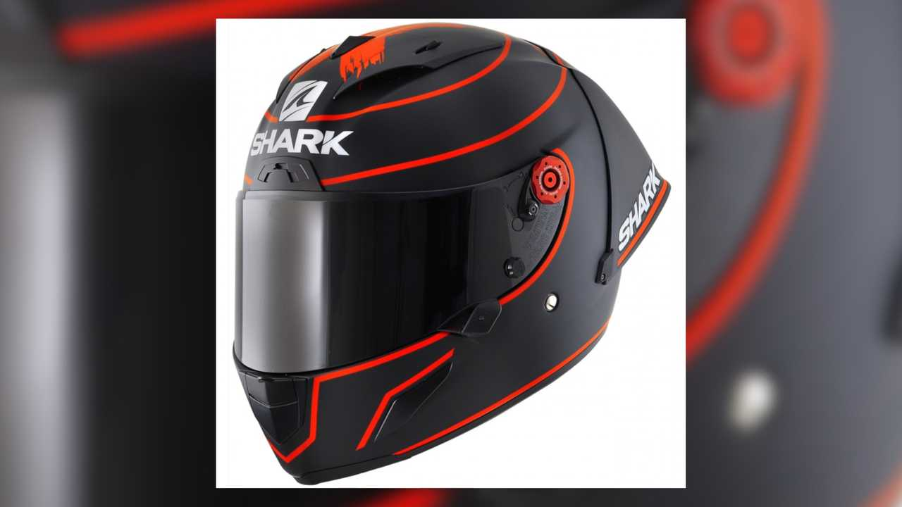 Shark Race-R Pro GP Lorenzo Winter Test Replica 2019