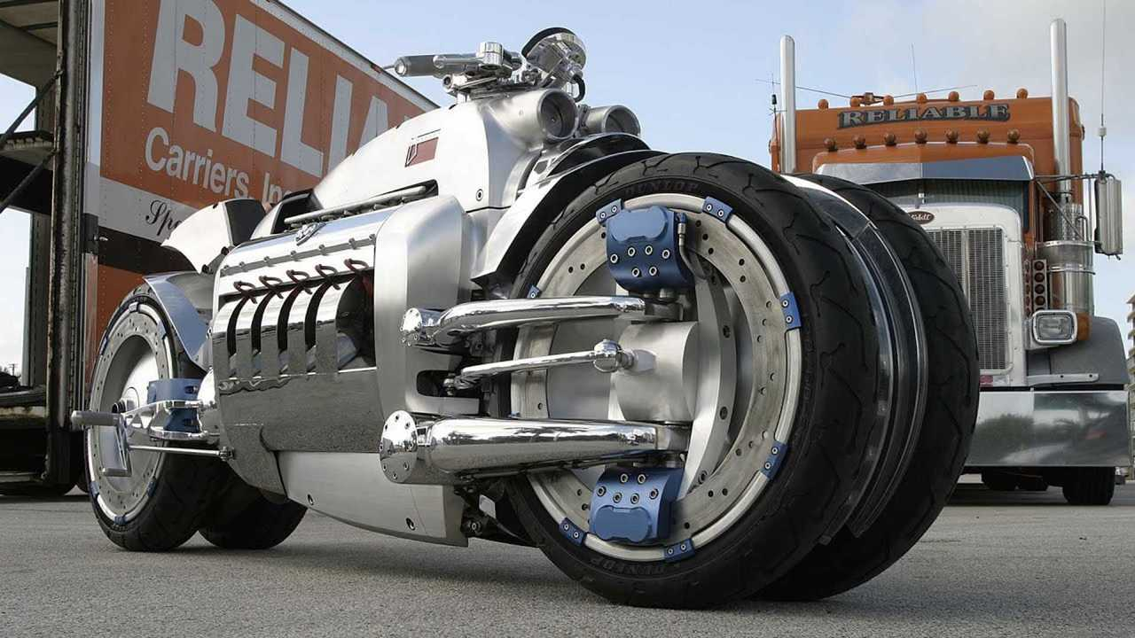 Honorable Mention: Dodge Tomahawk – 350 mph