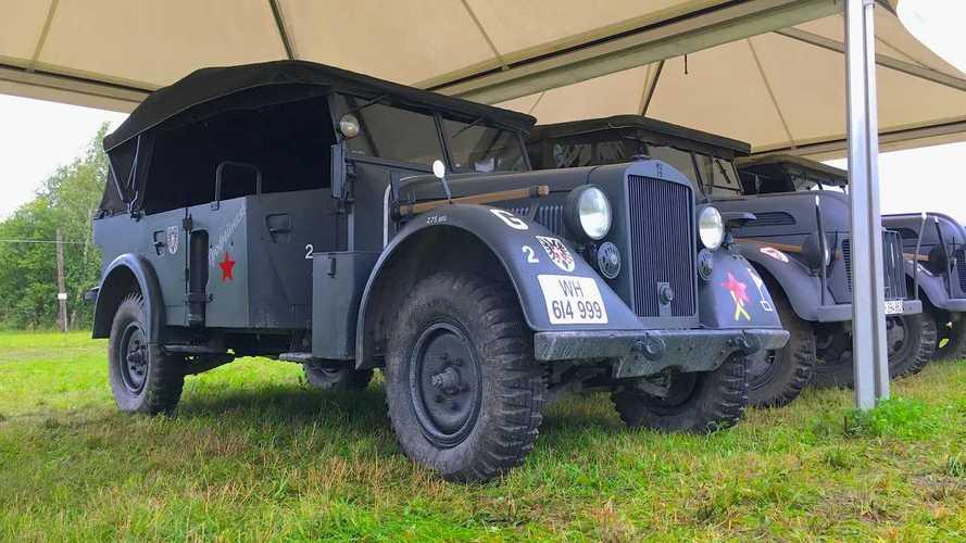Ветераны фронта: 10 старых машин, чудом выживших в аду