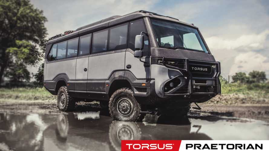 Torsus Praetorian overlander is a wicked off-road motorhome