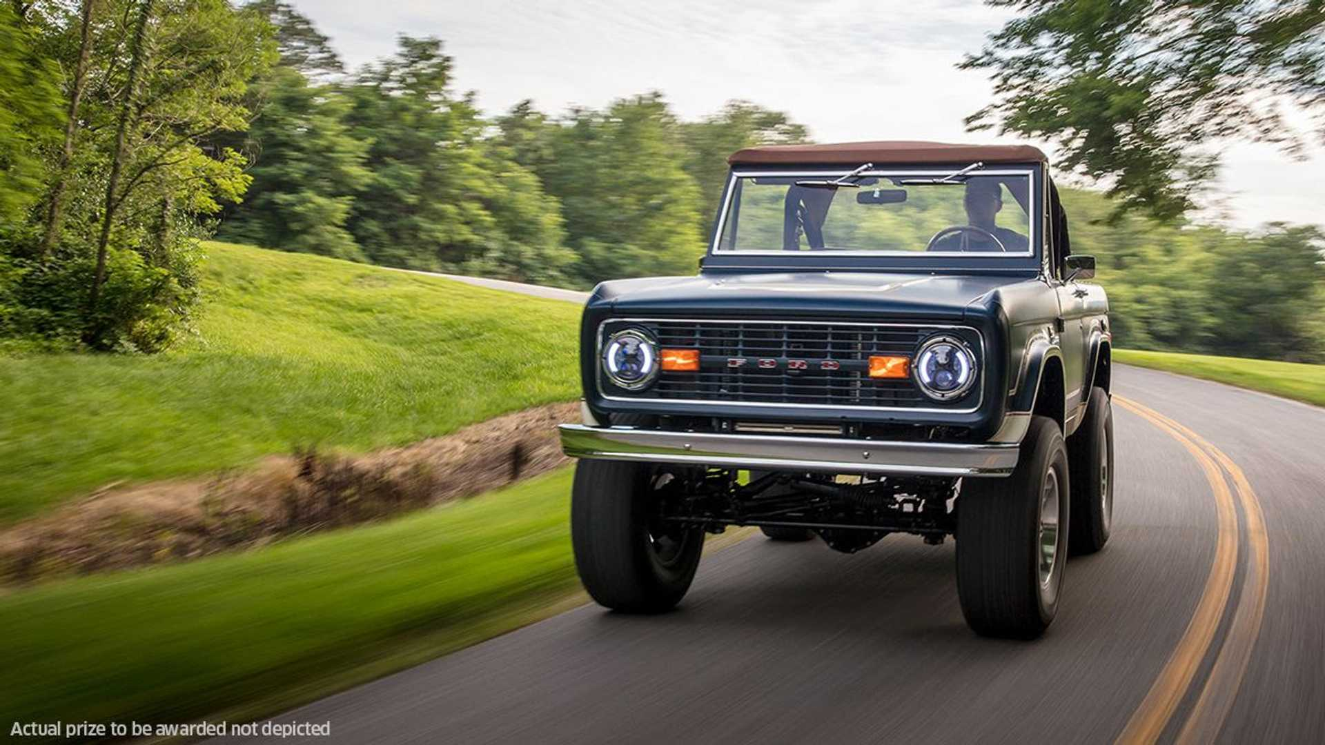 """[""""Omaze Partners With Gateway Bronco To Offer One-of-a-Kind Car""""]"""