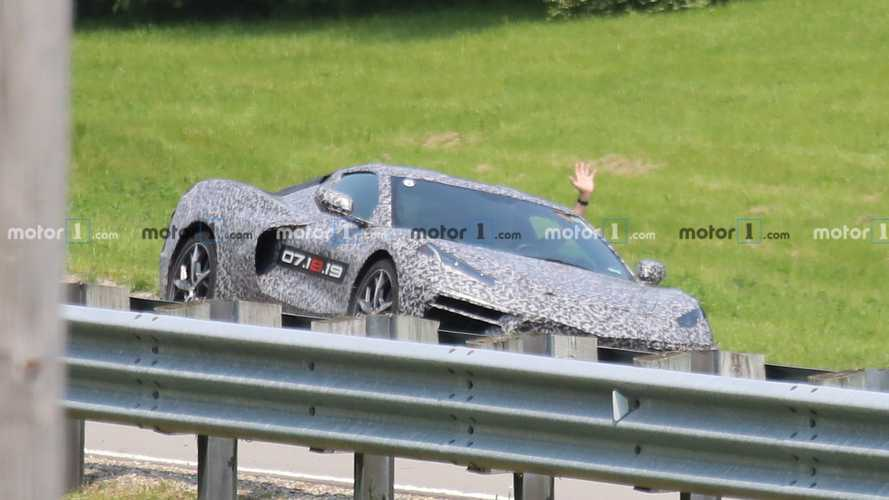 C8 Chevrolet Corvette Spy Photos