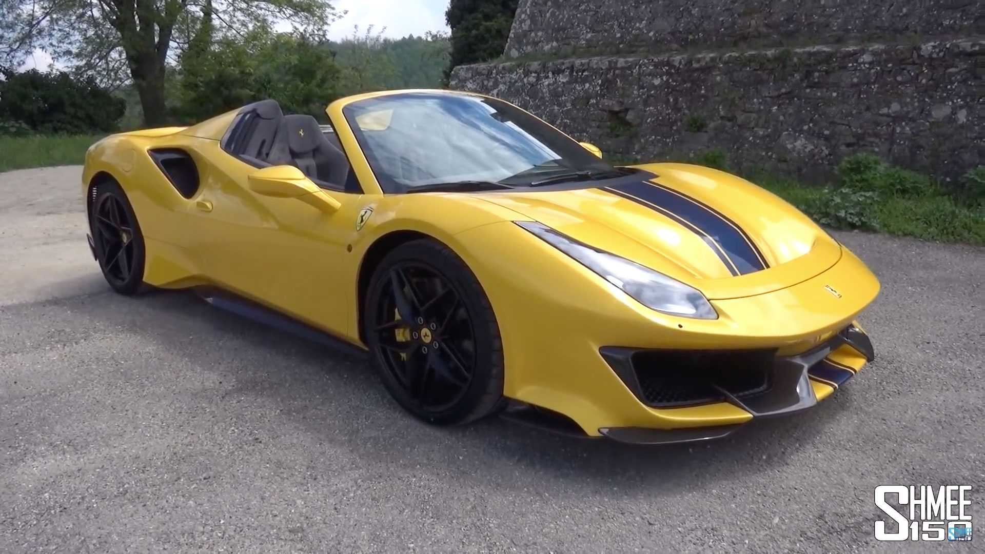 Ferrari 488 Pista Spider Examined Up Close In Video Review