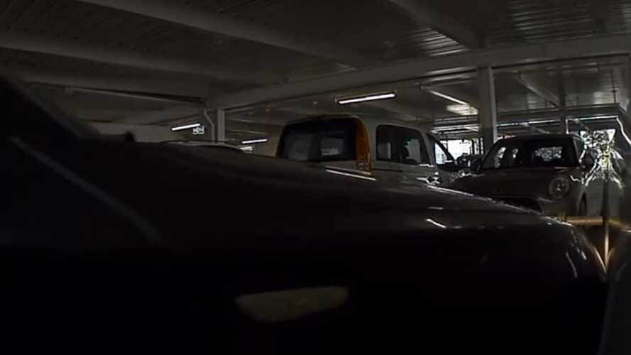 Watch Careless & Clueless Driver Hit Parked Tesla: Video
