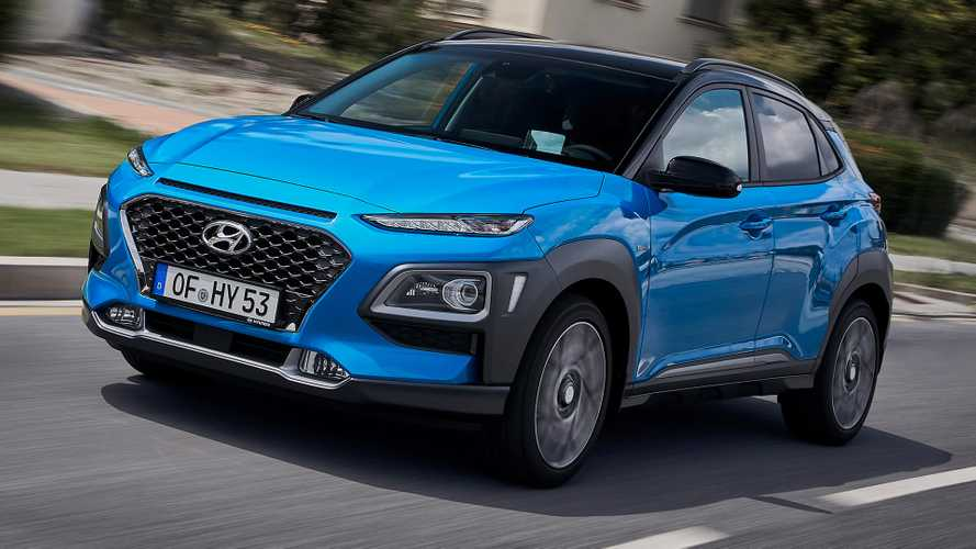 Hyundai Kona Hybrid Debuts In Europe As Efficient, Little Crossover