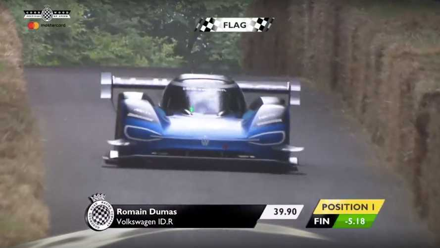 VW I.D. R Breaks Goodwood Hillclimb Record... Again