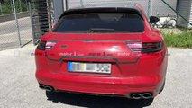 Porsche Panamera Sport Turismo restyling, le foto spia
