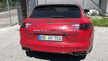 Porsche Panamera Sport Turismo Casus Fotoğraflar