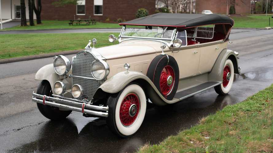 Elegant 1930 Packard 740 Super Eight Phaeton Is A Proven Winner