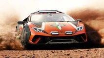 Lamborghini Huracan Sterrato Concept e le Gruppo B