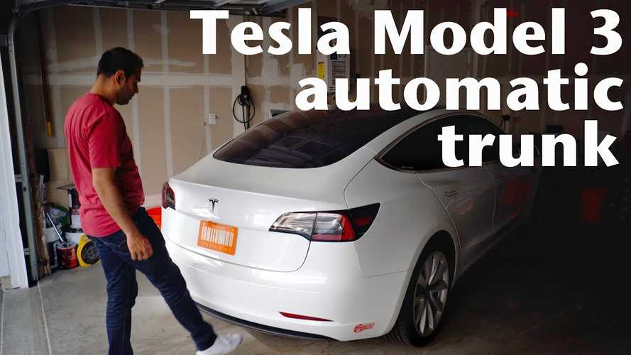 Check Out This Tesla Model 3 Hands-Free Power Lift Gate