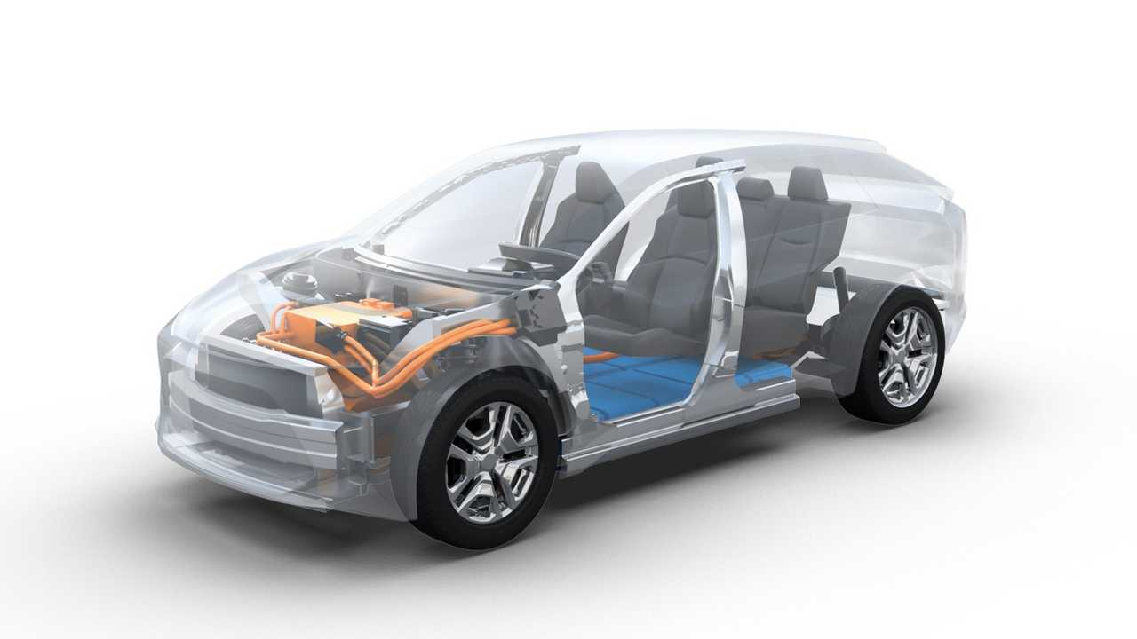 Subaru y Toyota: plataforma EV
