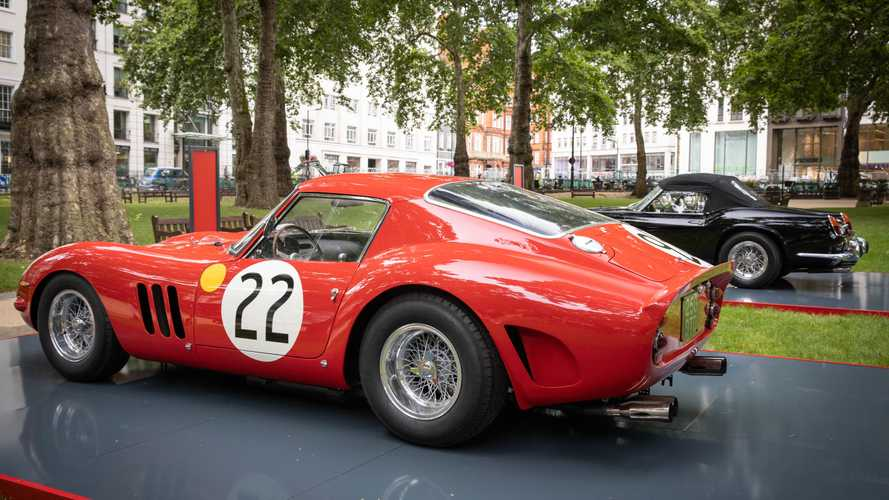Ferrari hosts garden party gathering of rarities in London