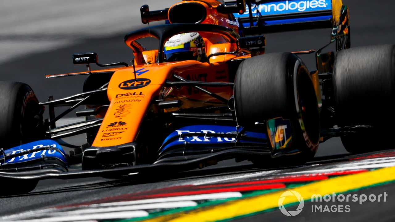 Lando Norris at Austrian GP 2019