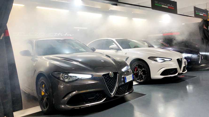 Alfa Giulia Quadrifoglio è l'auto a noleggio più potente d'Italia