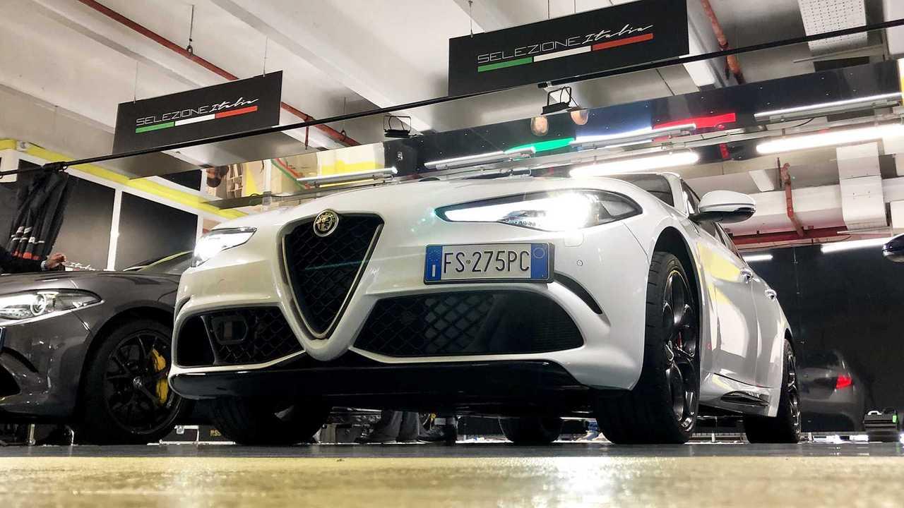 Alfa Romeo Giulia, Hertz Selezione Italia