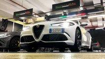 alfa romeo giulia quadrifoglio stal samym moshchnym prokatnym avtomobilem v italii