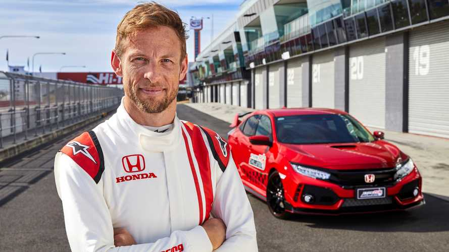 Button sets new Bathurst lap record