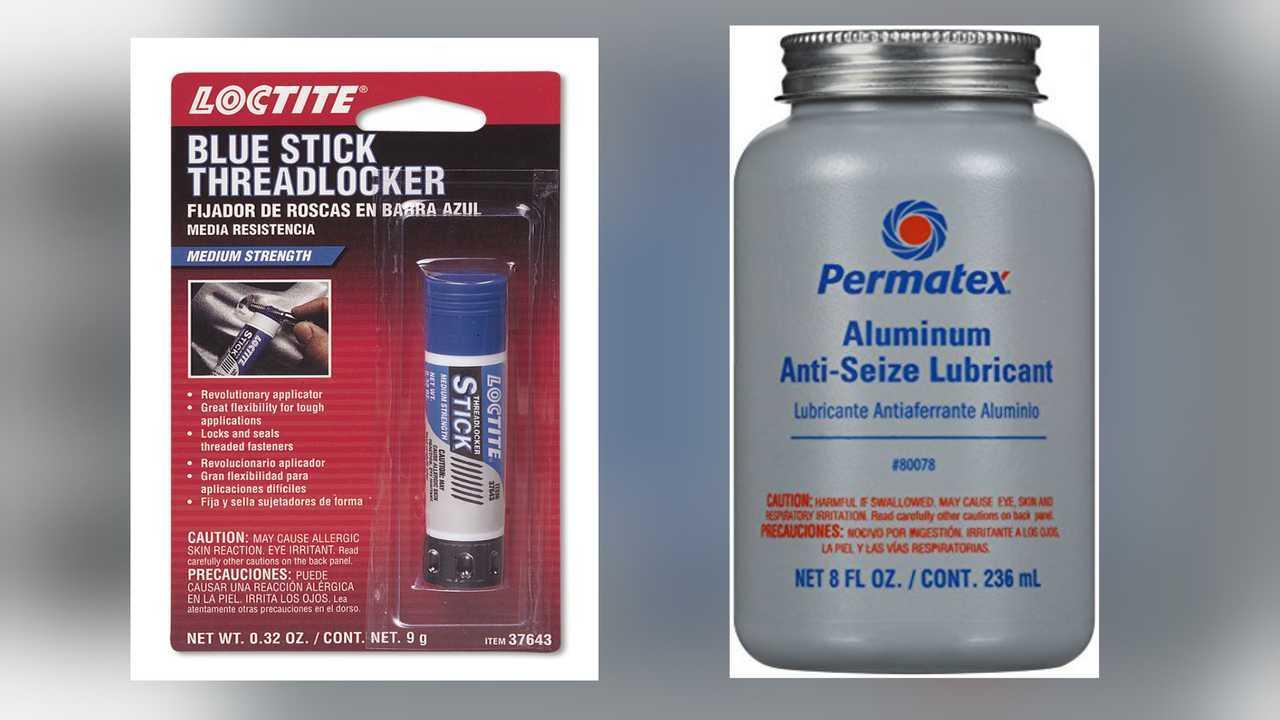 Anti Seize and Loctite