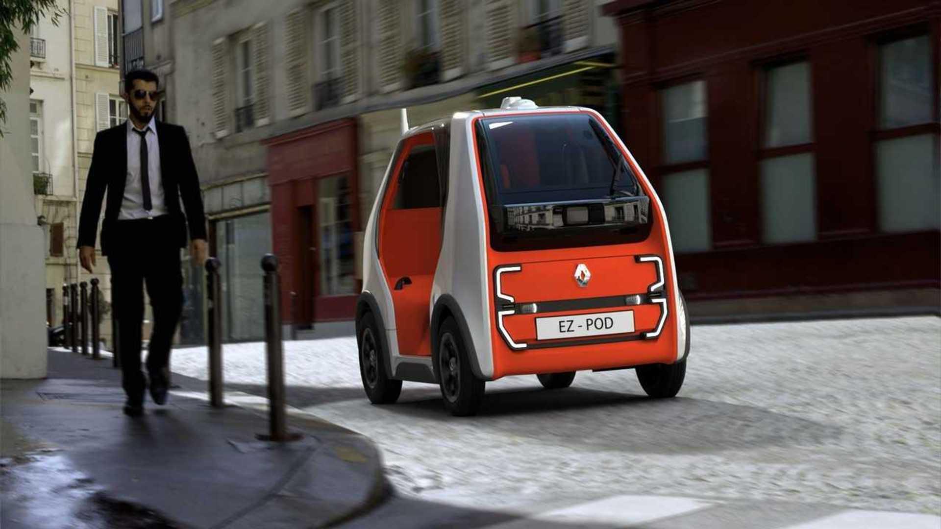Renault EZ-Pod - La mue futuriste du Twizy