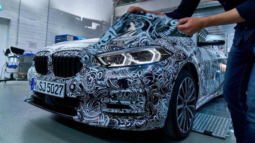 2020 BMW 1 Series new teasers