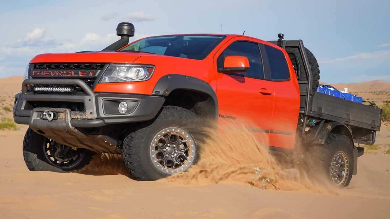 AEV Chevy Colorado Bison ZR2 Tray Bed Is Ready For Adventures
