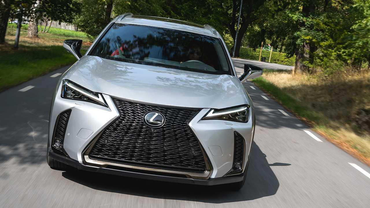 Autos mit krassem Grill: Lexus UX