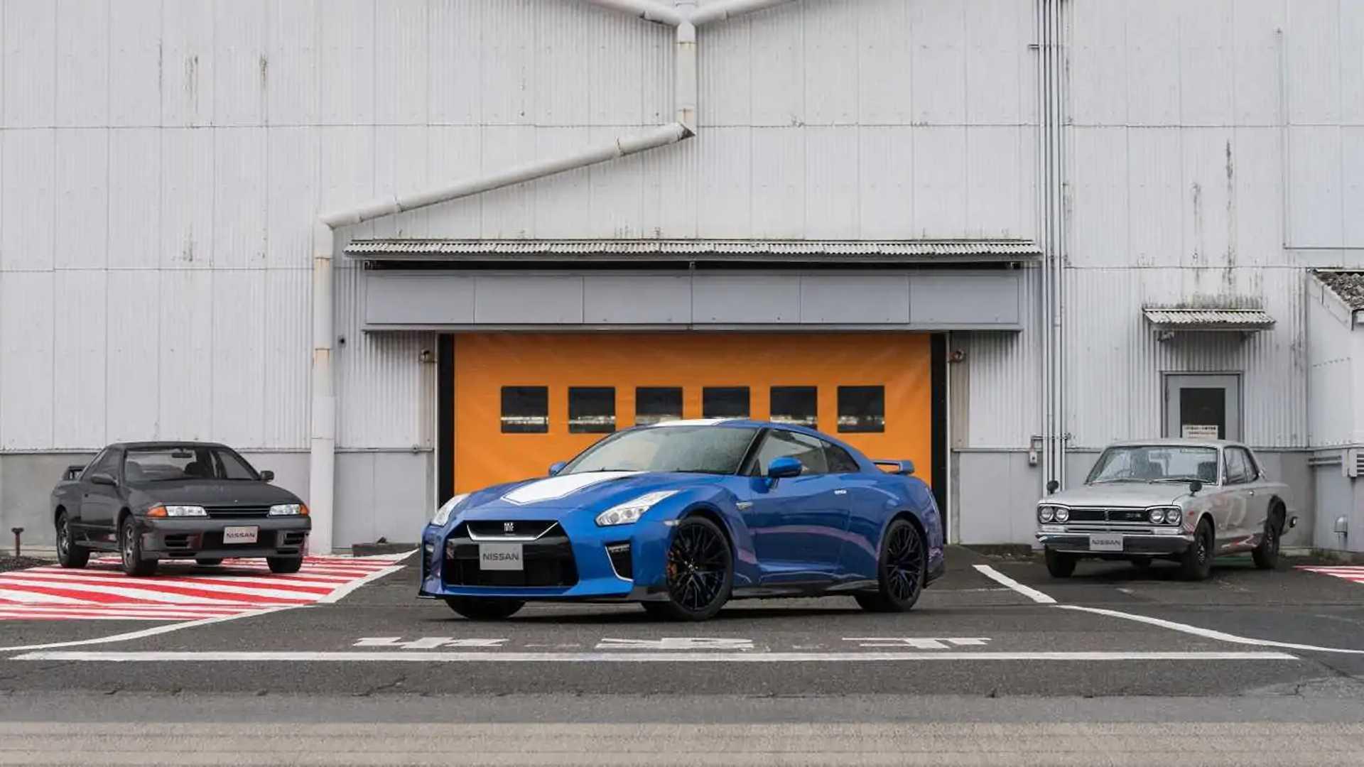 Nissan GT-R получил юбилейную версию 50th Anniversary Edition