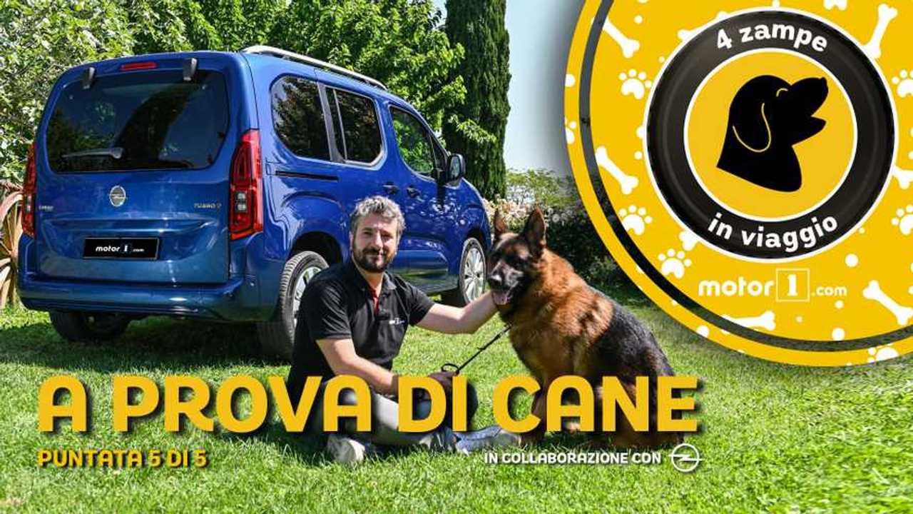 Copertina Opel Combo Life Pet Edition copertina video