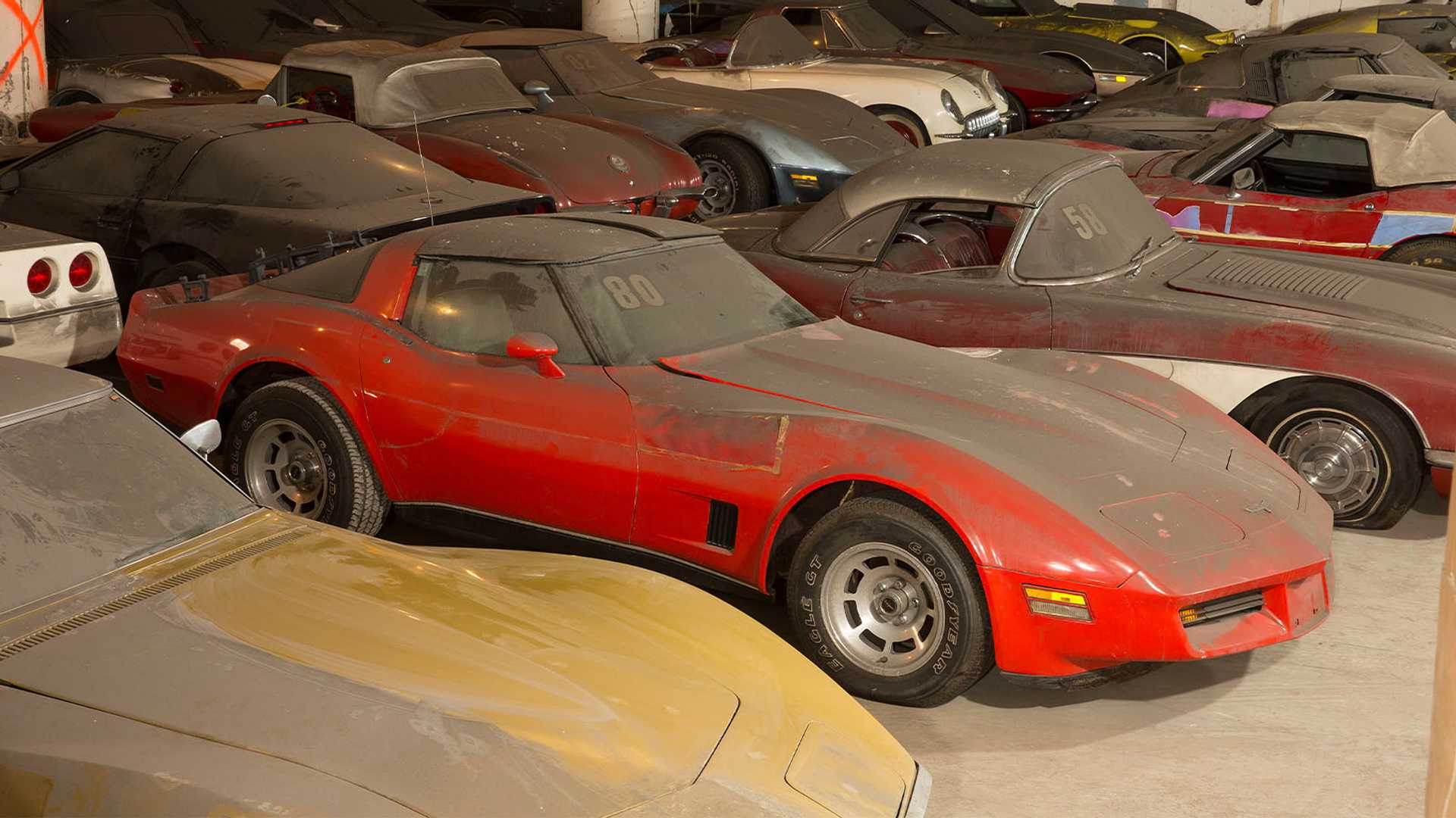 "[""Peter Max Corvette Collection Being Raffled Off For Charity""]"