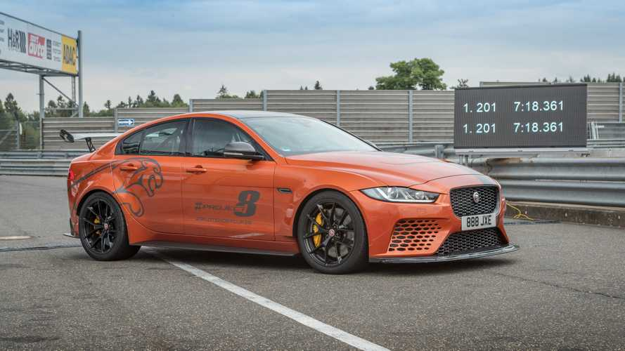 La Jaguar XE SV Project 8 bat son propre record sur le Nürburgring