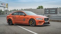 Jaguar Project 8 beats own Nurburgring record