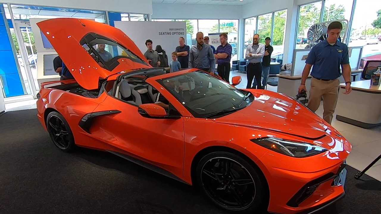 2020 Corvette Stingray C8 Engine Bay Detailed On Video
