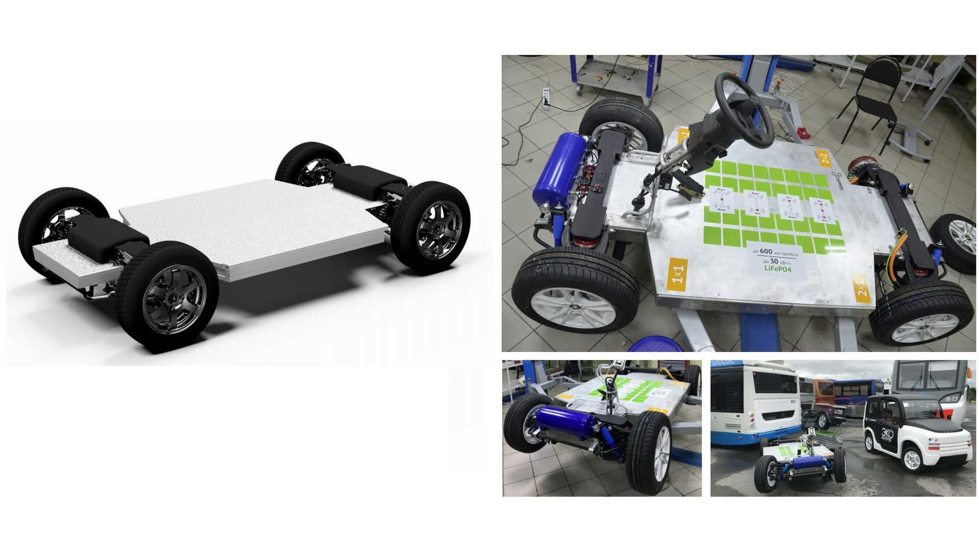 Zetta City - chassis