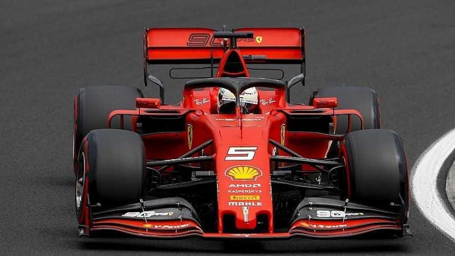Vettel se pone un aprobado raspado a su temporada hasta ahora