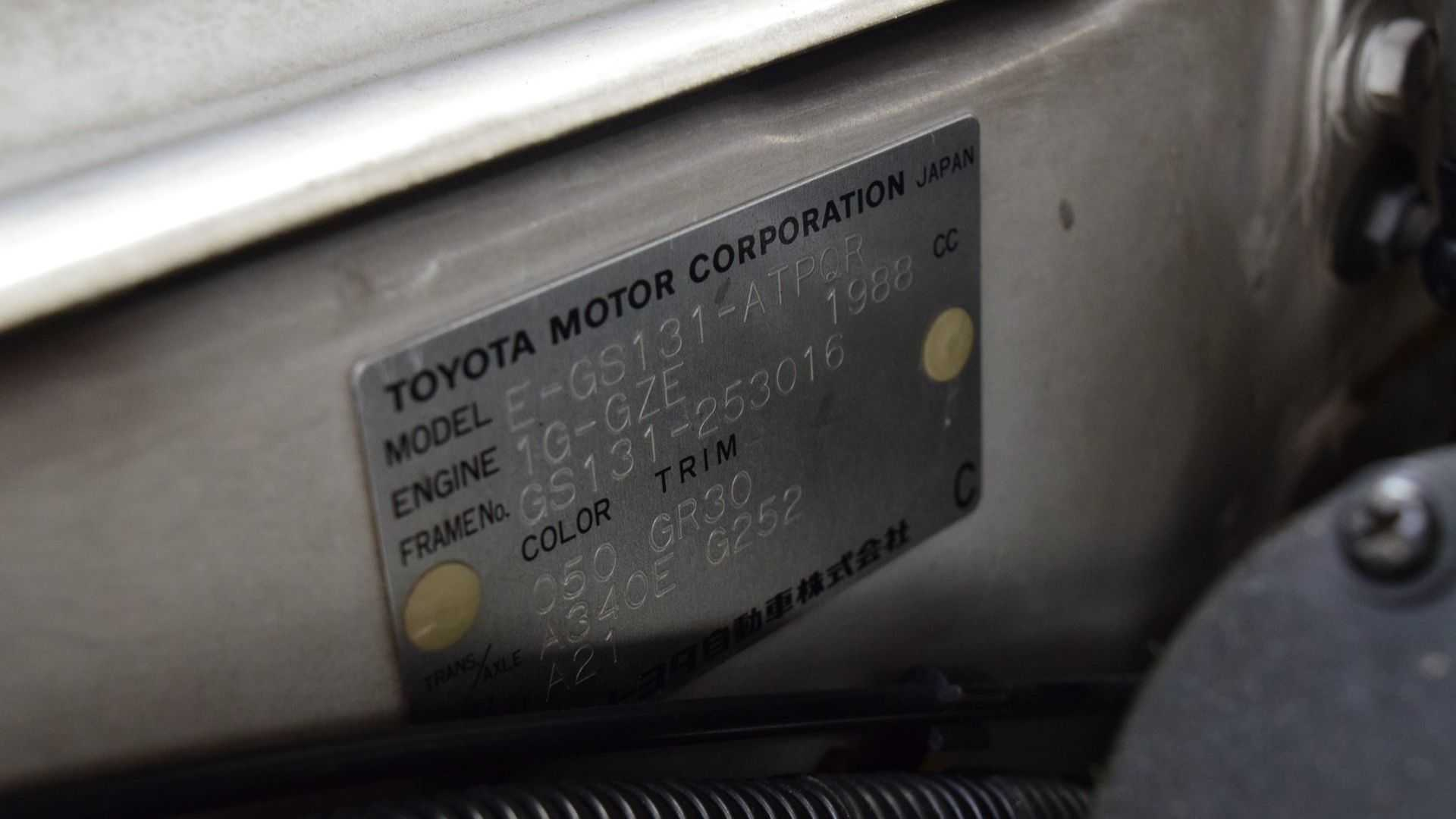 """[""""Fridge Included In 1991 Toyota Crown""""]"""