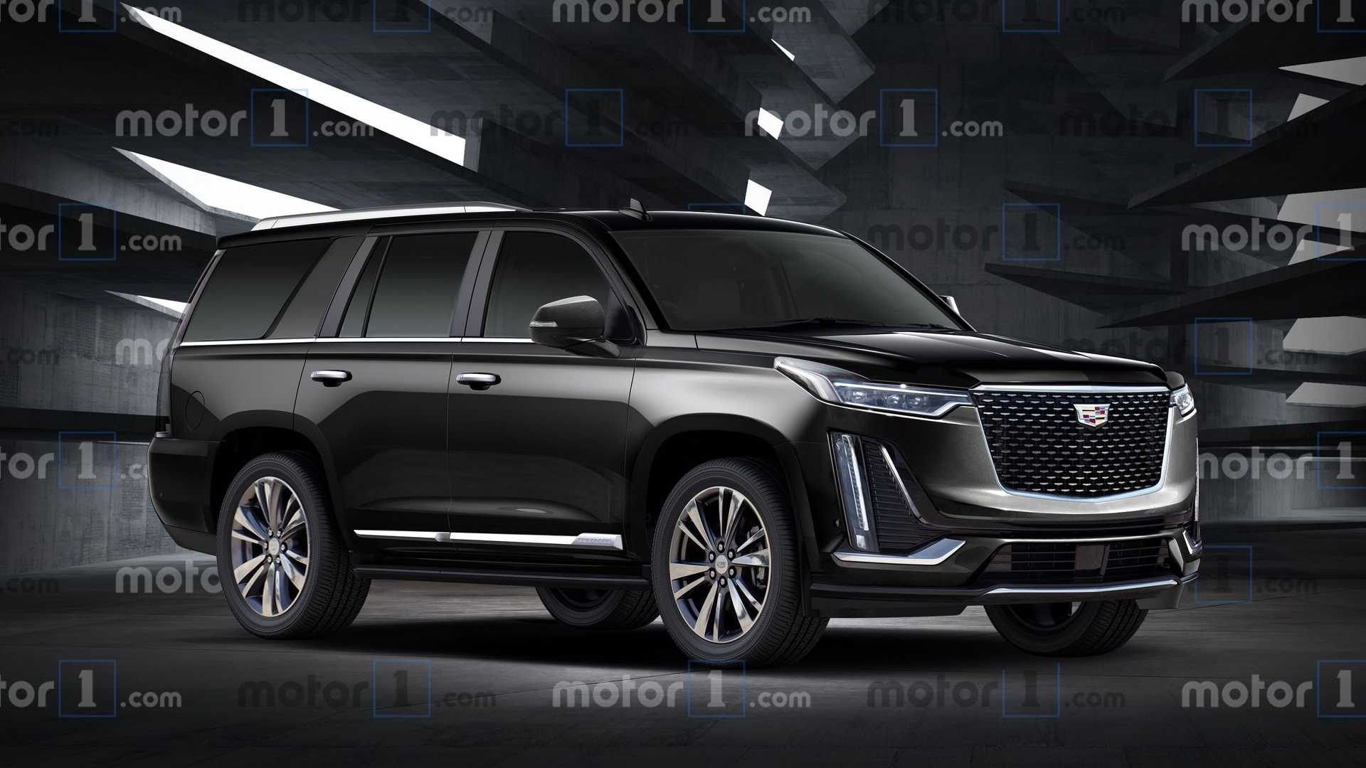 Cadillac Escalade Rendering Shows Next Gen's New Lines