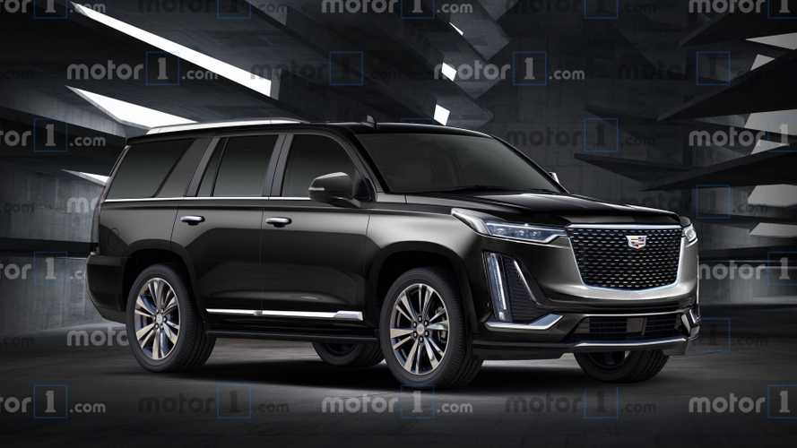 400-Mile Cadillac Escalade Electric SUV Might Look Like This