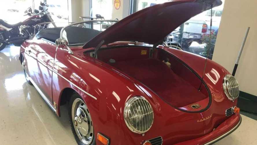Porsche 356 A 1600 Speedster Replica Celebrates A Legend