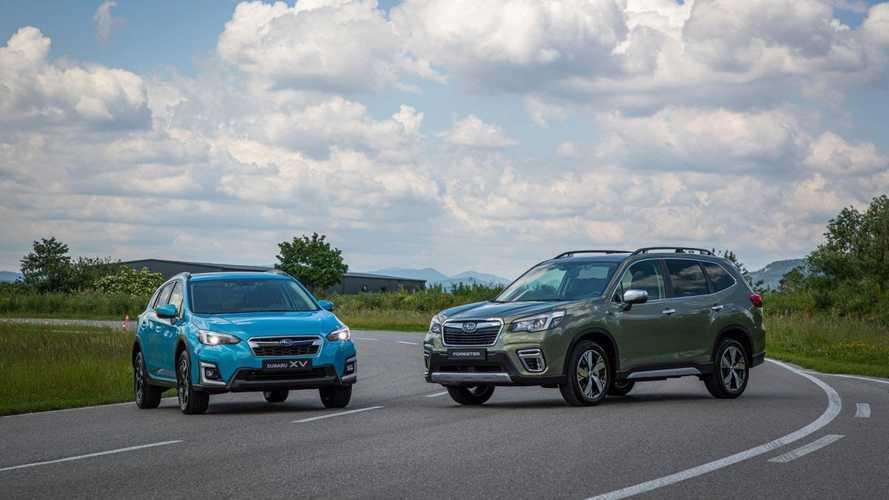Les Subaru XV et Forester hybrides arrivent sur le marché