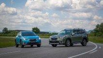 subaru xv forester hybrides prix
